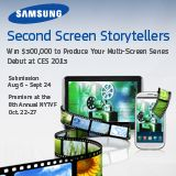 Samsung Second Screen Storytellers - Call For Entries