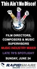 The Art of Music's |Sounds like Music|: Film / TV / Gaming Mixer with premier sound-composer Diego Stocco